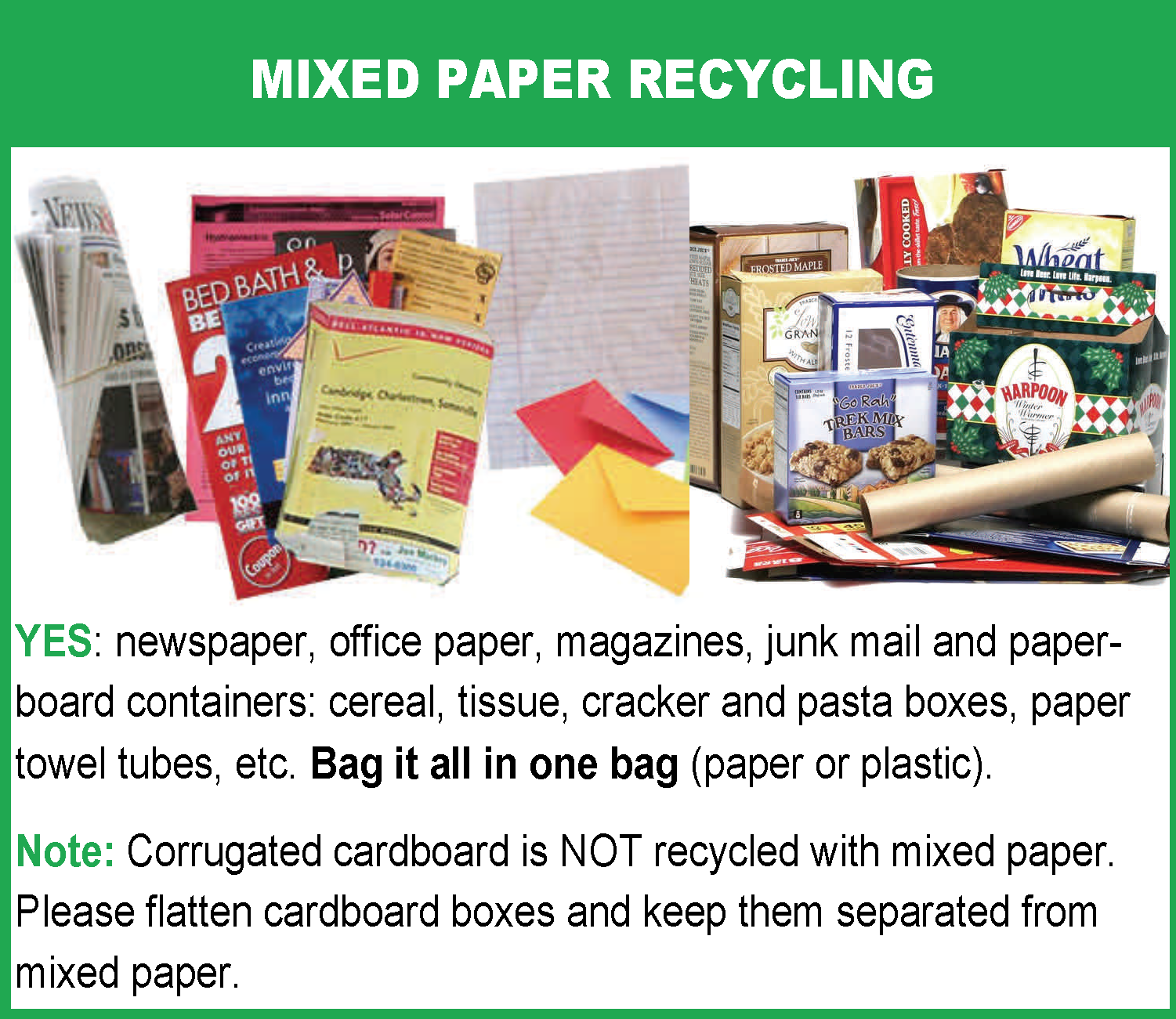 Q: Can you answer all my paper recycling questions? - Refuse